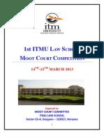 1st ITMU LAW SCHOOL