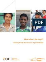 What About the Boys - Raising Men to End Violence Against Women