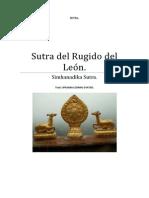 Sutra del Gran Discurso del Rugido del León