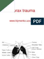 L 1Thorax Trauma