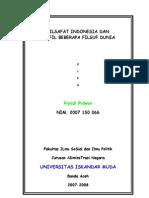 12854208 Filsafat Indonesia Dan Profil Beberapa Filsuf Dunia