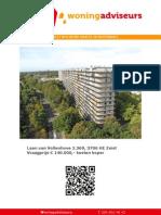 Brochure Laan van Vollenhove 2369 te Zeist