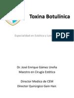 Toxina Botulinica (Febrero) PARTE 1
