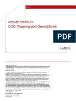 Metric Bod Mapping Descriptions