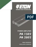 Eton PA 1502