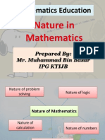 MTE - Nature of Mathematics