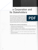 The Corporation and Its Stakeholders(1)