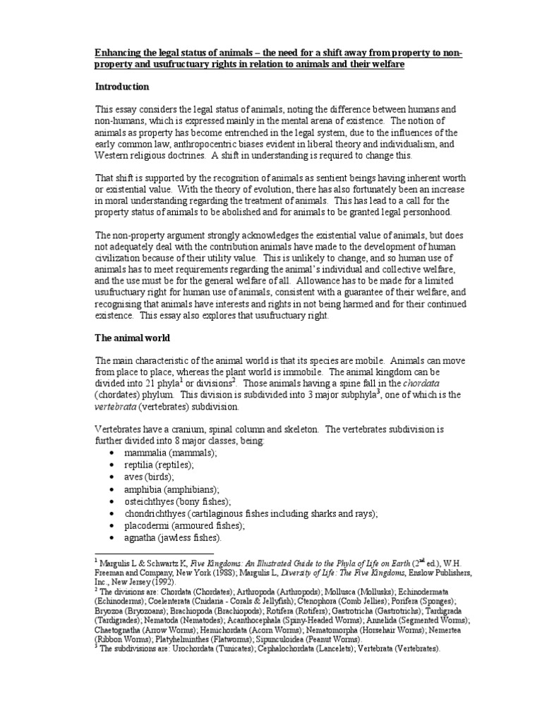AL Essay Dharmadeva Comment | Animal Welfare | Animal Rights