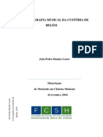 DISS. Mestrado A Iconografia Musical da Custódia de Belém