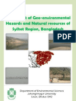 Assessment of Geo-environmental hazards and Natural resources of Sylhet region, Bangladesh