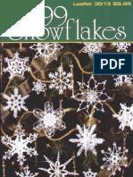 99 Snowflakes - Crochet Motifs