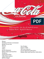 Coca Cola Marketing Mix