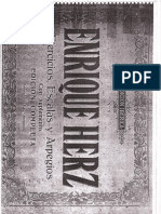 Enrique Herz - Escalas y Arpegios