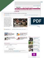 Un Cleba autoritario (33-25) - Deportes - Diario de León