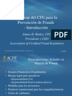 ACFE Fraud Prevention Spanish