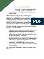 What is an Argumentative Essay.doc