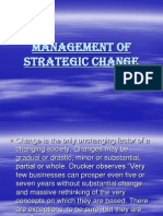 Strategic Change
