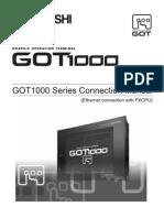 GOT1000 - Connection Manual for GT Works2 (FX3U Ethernet) SH(NA)-080719-B (10.08)