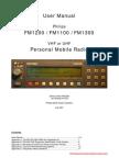 Philips FM1100-1200-1300 VHF-UHF Tranciever Manual