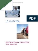 Unitate Didaktikoa - Instrukzioak Jasotzen Eta Ematen