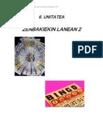 Unitate Didaktikoa - Zenbakiekin Lanean 2