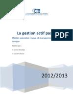 10- Domaine et démarche de la gestion des actifs (1)