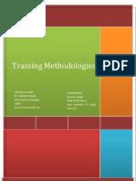Report Training Methodologies