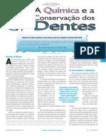 A química e a conservação dos dentes