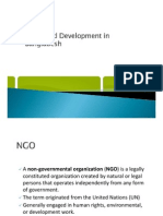 NGOs and Development in Bangladesh
