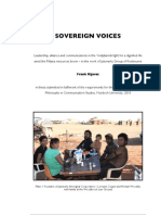 Sovereign Voices & Addenda