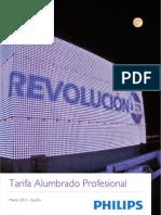 Tarifa Alumbrado 2013 Web