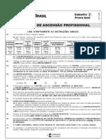 Prova Certificação Interna BB 2008 Azul
