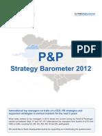 P&P Strategy Barometer 2012