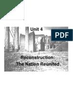 reconstruction unit 4