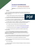 Sistema de Gestão da Ética do Poder Executivo Federal-Decreto 6029