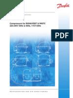 Danfoss Sprezarki R-404 Katalog