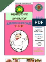 Proyecto de Inversion - El Chef