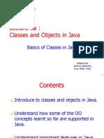 Lecture 3a ClassesAndObjects
