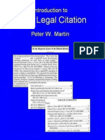 Basic Legal Citation