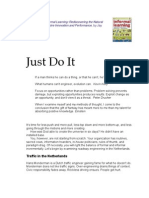 Informal Learning, Chapter 15:Just Do It