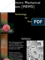 MEMS technology seminar