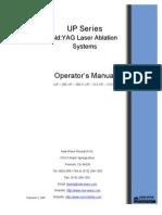 ESI Laser Ablation Operators Manual
