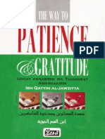 The Way to Patience Gratitude