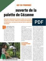 Aix-en- Provence à la découverte de la palette de Cézanne -  Faire Face, mars 2013