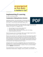 Implementing eLearning Chapter