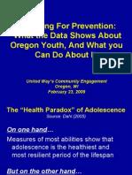 Oregon Parents Feb 2009 United Way