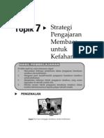 Bm-strategi Pengajaran Membaca