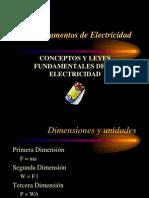 Fundamentos de Electricidad - Unidad 1 - Conceptos y Leyes Fundamentales de La Electricidad