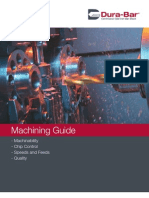Dura Bar Machining Guide