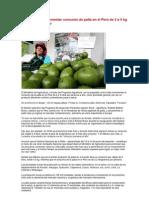 Minag busca incrementar consumo de palta en el Perú de 2 a 5 kg por persona al año
